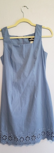 Jodi Kristopher Dresses & Skirts - Jodi Kristopher 90s Vintage Blue Dress Size 7/8
